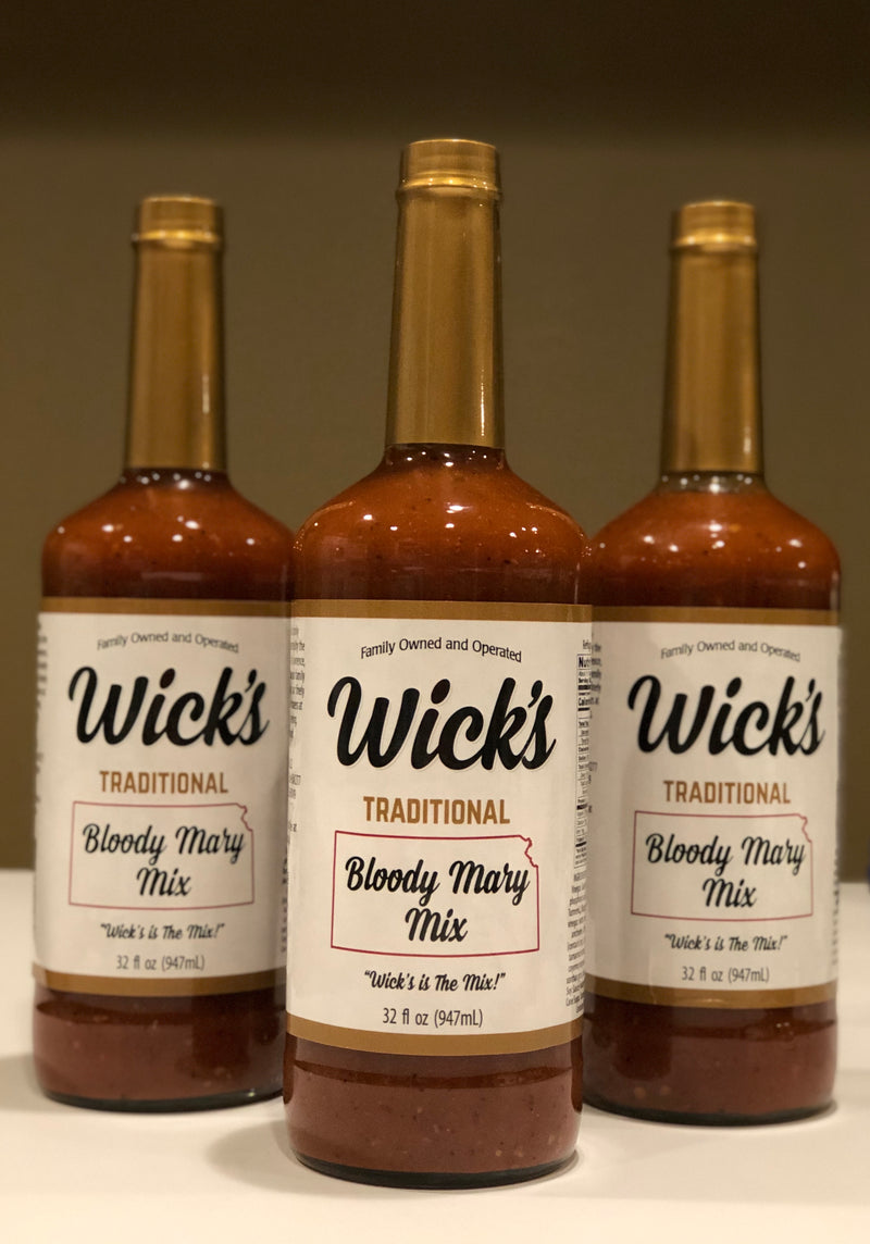 Wick's Traditional Bloody Mary Mix - 3 Pack