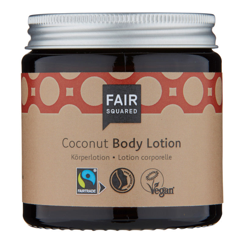 Fair squared- Kokos body lotion- zero waste 100ml - Nordic- wellness.dk