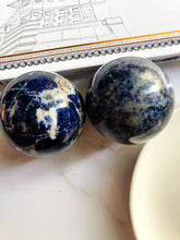 Load image into Gallery viewer, Sodalite Sphere Medium