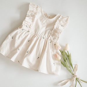 baby clothing white dress cute