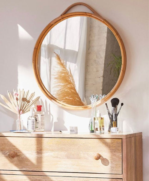 Bloom Round Mirror