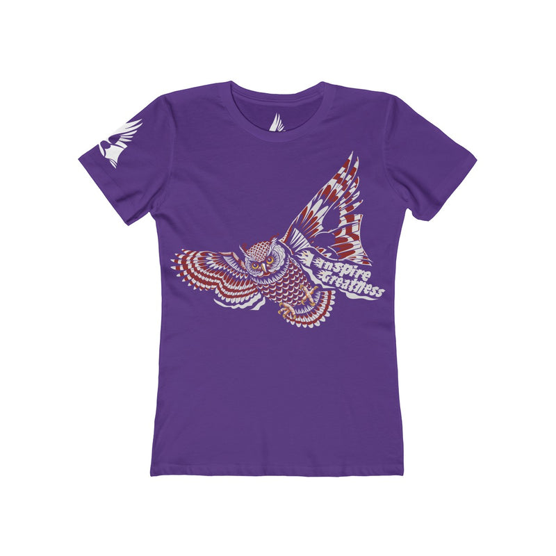 Wise Owl women Tee