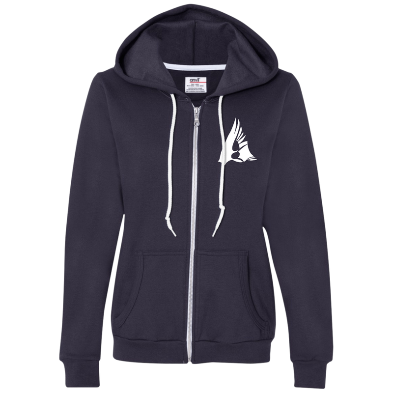 FLEECE Ladies Full-Zip Hoodie