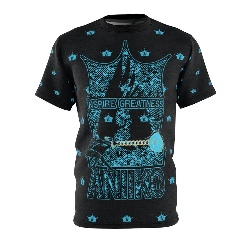 AOP Pull Inspiration BLK Cut & Sew Tee