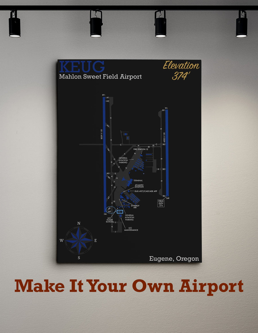 Create Your Own Airport Map - Flight Crew Style