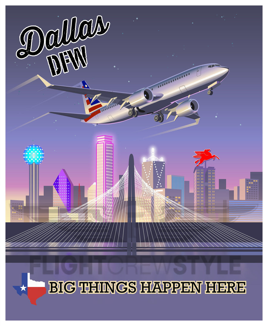 Dallas - Flight Crew Style