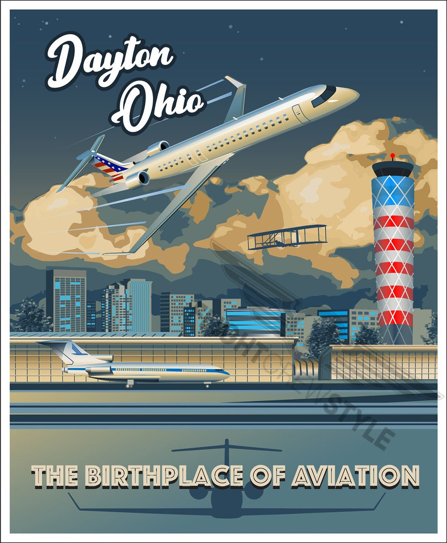 Dayton Birthplace of Aviation - Flight Crew Style