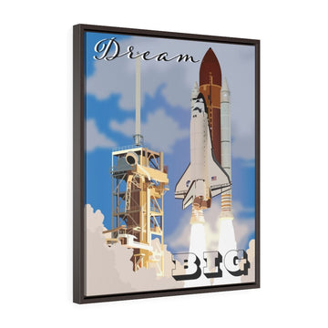 Kid's Space Shuttle Wall Art - Flight Crew Style