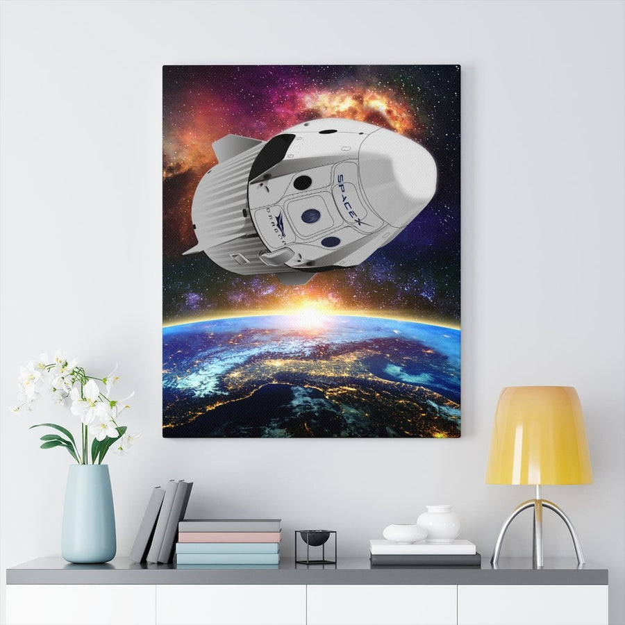 SpaceX Dragon Canvas - Flight Crew Style