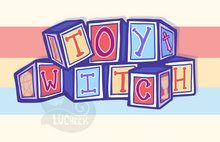 "Load image into Gallery viewer, ""TOYWITCH"" Fanny-Pack"