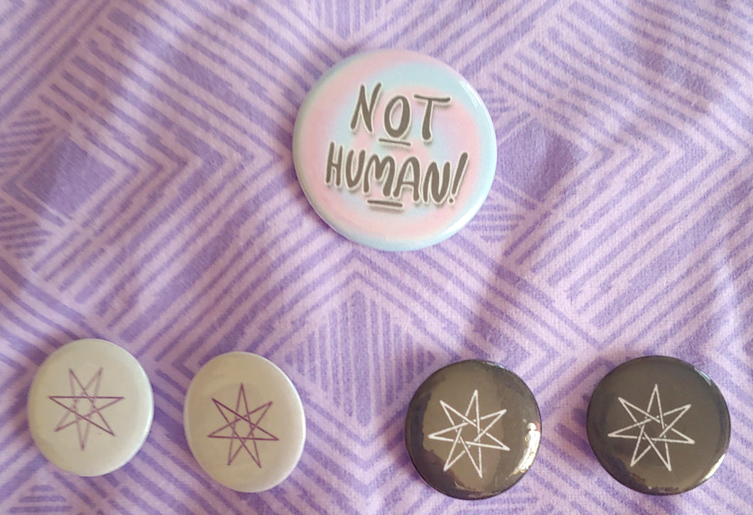 Kinnie Button-Pins (Set of 5)