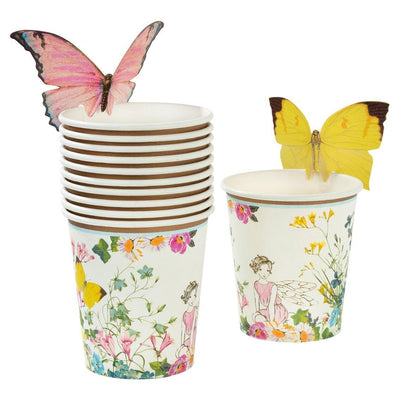 Truly Fairy Paper Cups with Butterfly Detail - CeciVictoria