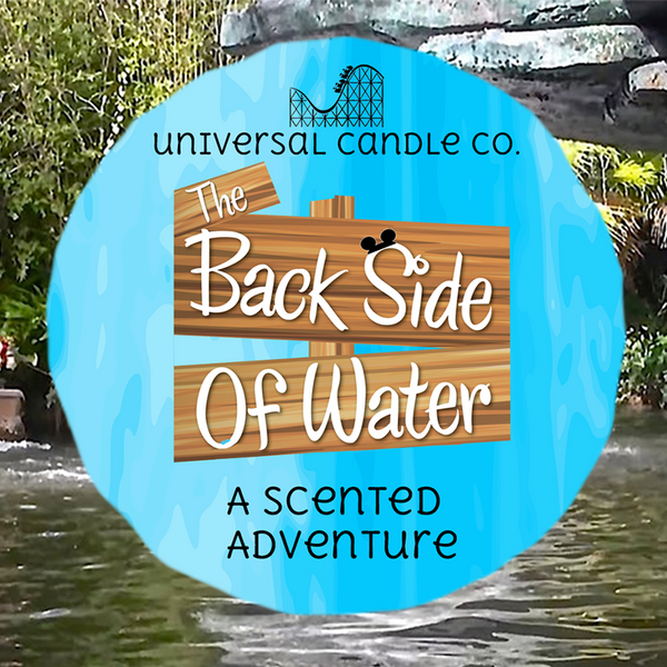 Backside of Water Scents - Universal Candle Co
