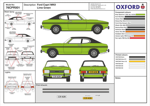 76CPR001 Design Cell Oxford Diecast