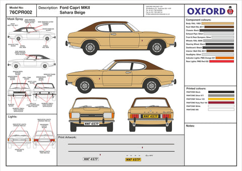 76CPR002 Design Cell Oxford Diecast