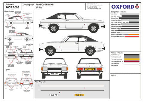 76CPR003 Design Cell Oxford Diecast