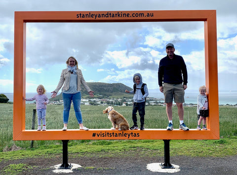Stanley and Tarkine Picture frame