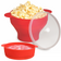 Microwave Reusable Silicone Popcorn Maker