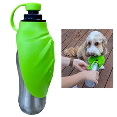HydraTED Stainless Steel Pet Water Bottle
