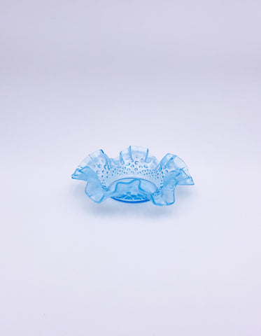Opalescent Hobnail Dish