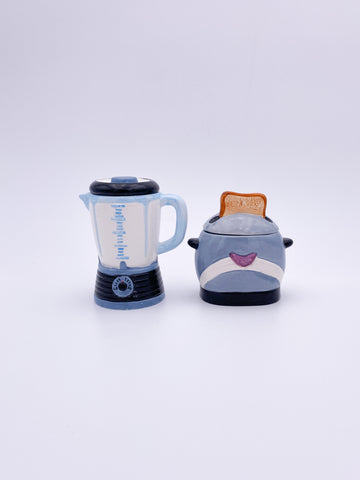 Toaster and Blender Set