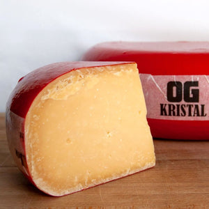 OG kristal - yellow cheese with red rind