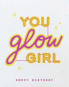 Glow Girl Birthday