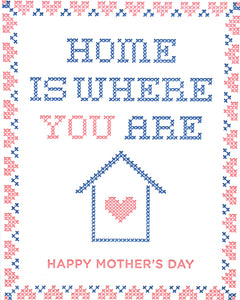 Cross Stitch Mother's Day