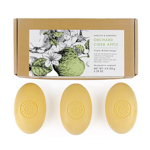 Orchard Cider Apple Soap Set
