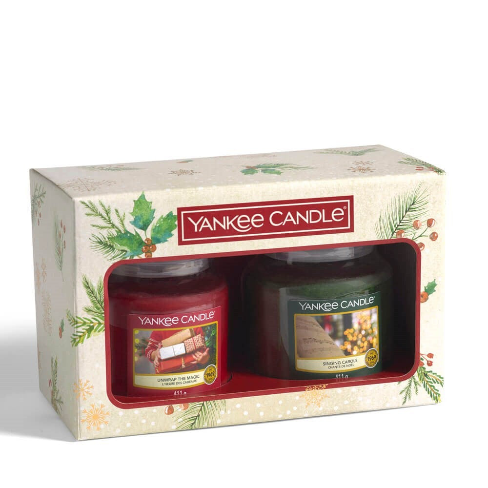 Yankee Candle 2 x Medium Jar Gift Set