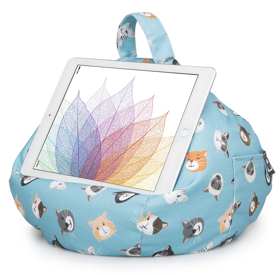 iPad, Tablet & eReader Bean Bag Cushion by iBeani - Cool Cats