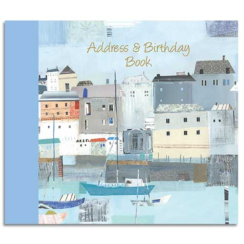 By the Sea - Address Book & Birthday Book