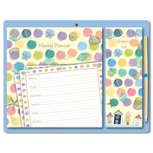 By the Sea - Magnetic Planner Set