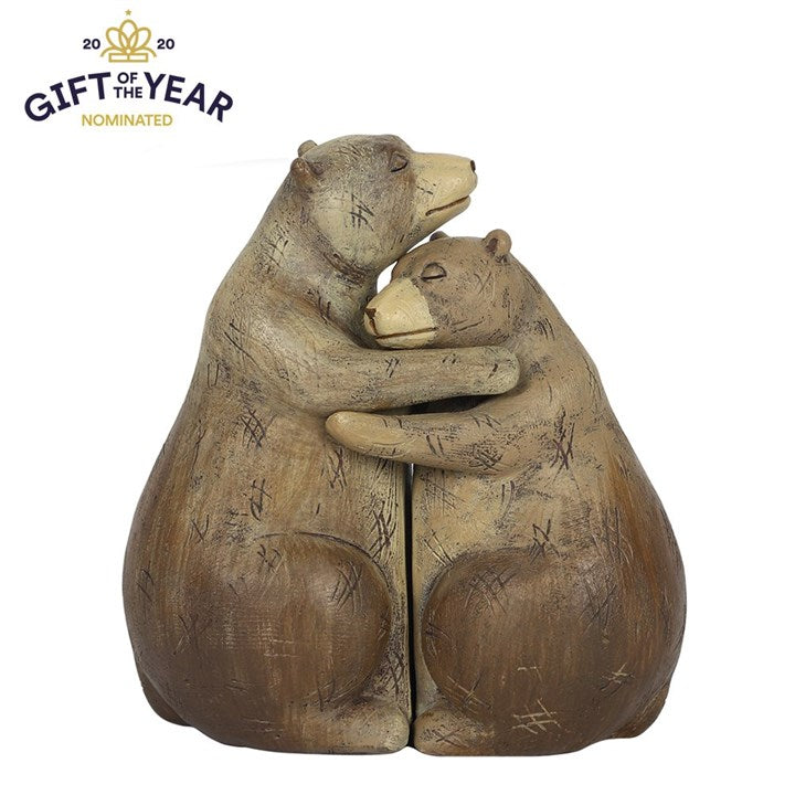 Bear Hug Couple Ornament