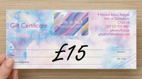 £15 - Gift Certificate