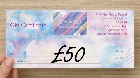 £50 - Gift Certificate