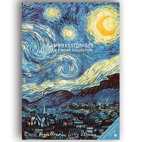 Gift Wrap - Impressionists
