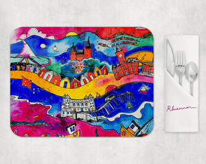 Rhiannon Art - Magic in South Wales Placemat