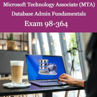 MTA 98-364 - Database Administration Self-Paced Online Course + Online Practice Test + MTA Voucher with Retake