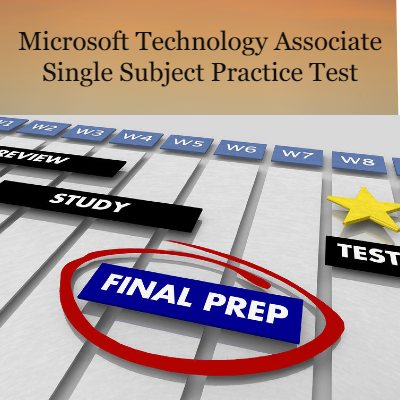 MTA Single Subject Online Practice Test
