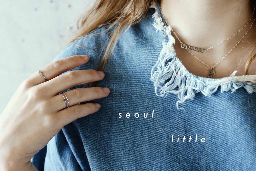 New Arrivals: Necklaces, Earrings and Rings by Seoul Little