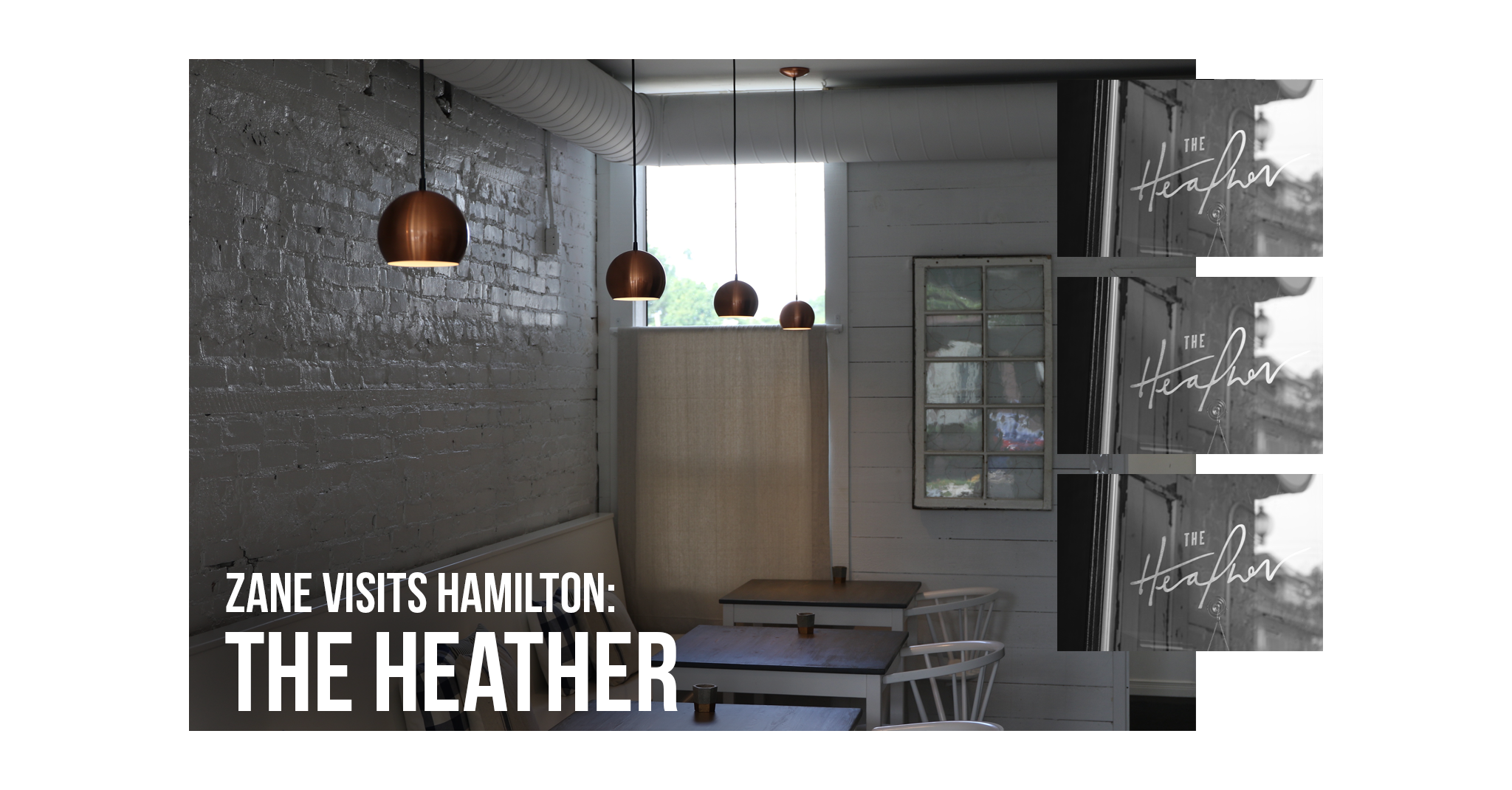 The Heather ZANE Toronto Visits Hamilton