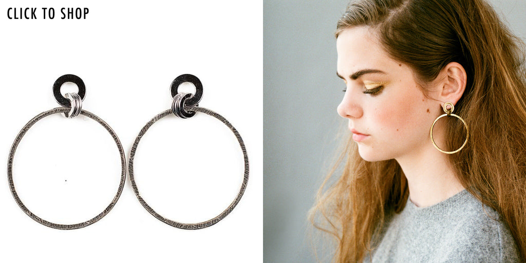 Nika Hoop Earring - Michelle Ross