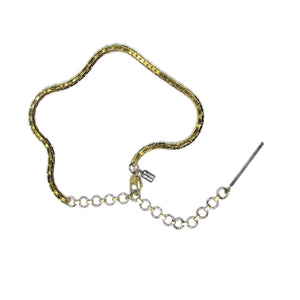 Industrial Extension Necklace Gold
