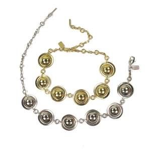 Disc Choker Gold