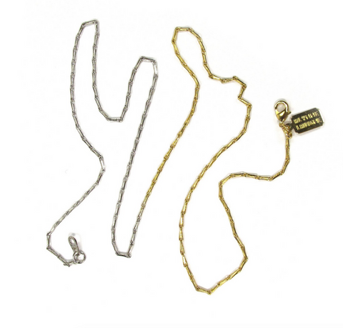 2Tone Clip Link Necklace