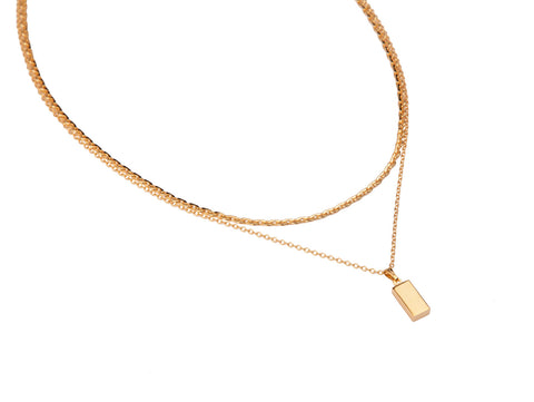 Alegria Necklace | 14K Gold Dipped