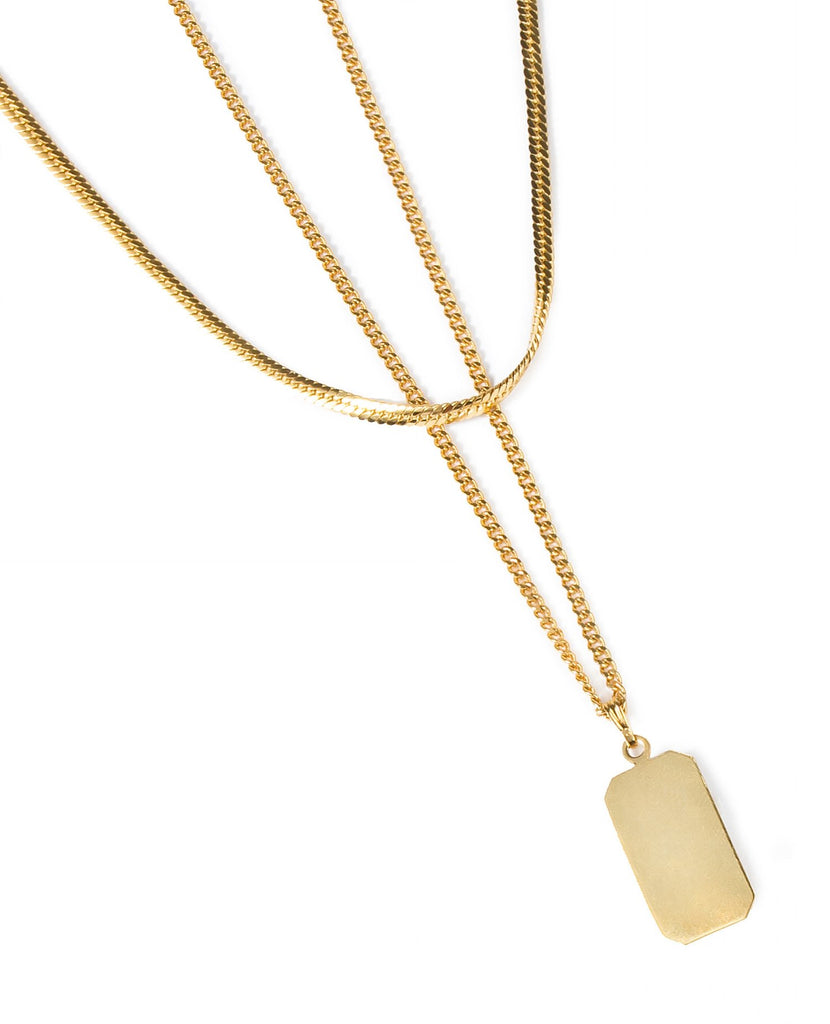 Angeles Necklace, Gold