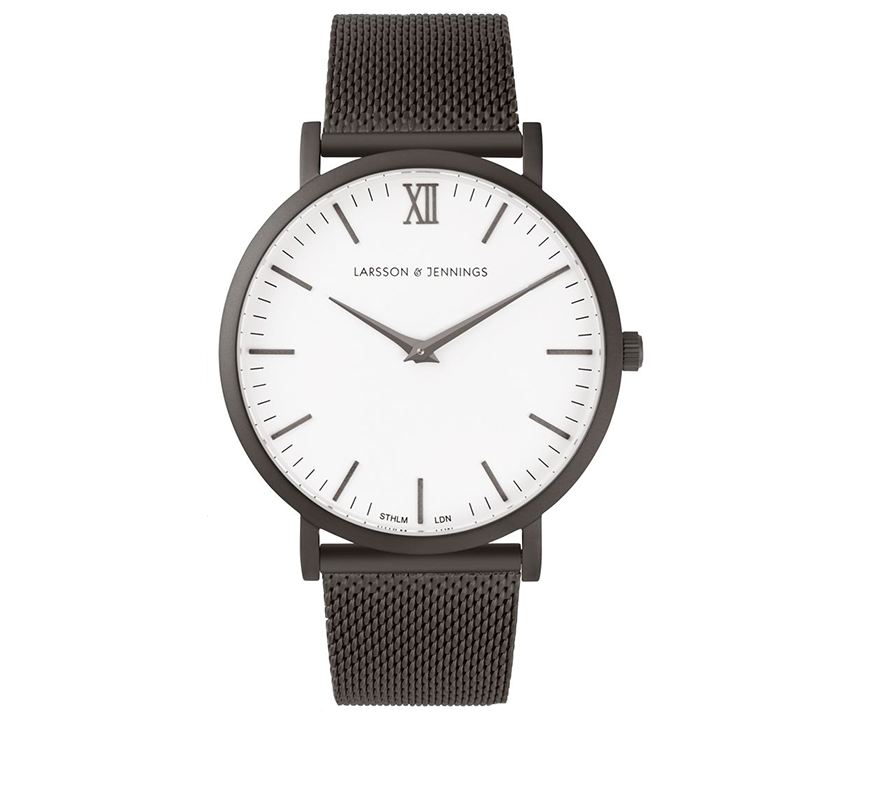 LUGANO CM 40MM ANTHRACITE-Watches-Larsson and Jennings-Anthracite-ZANE