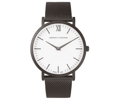 Larsson and Jennings-LUGANO CM 40MM ANTHRACITE-Watches-Anthracite-ZANE-Toronto-Canada